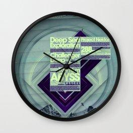 Project Nekton - Exploration #1 Wall Clock