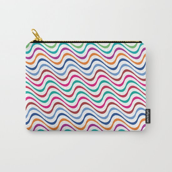 Rippling Colors Carry-All Pouch