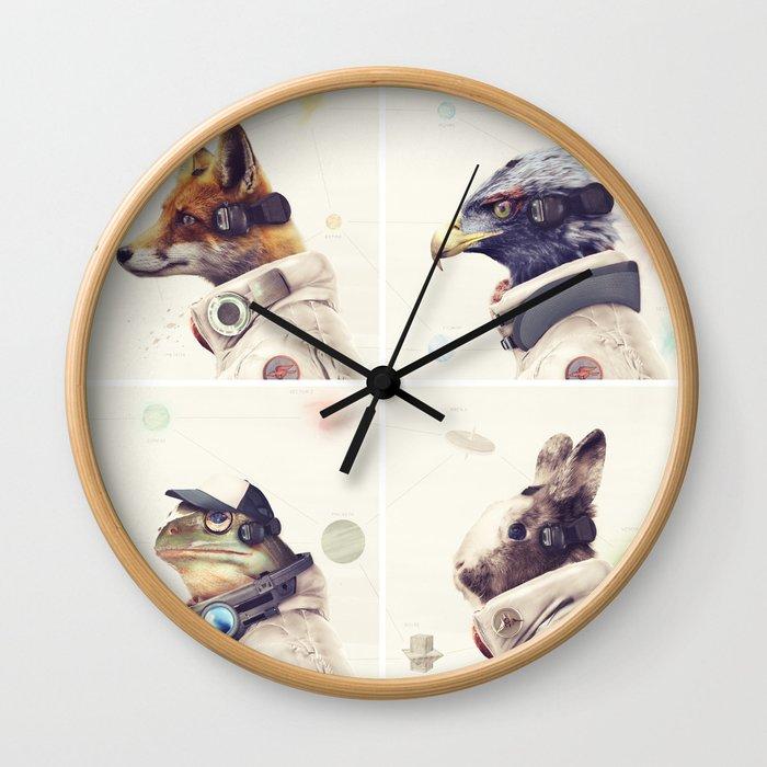 Star Team - Legends of Lylat Wall Clock