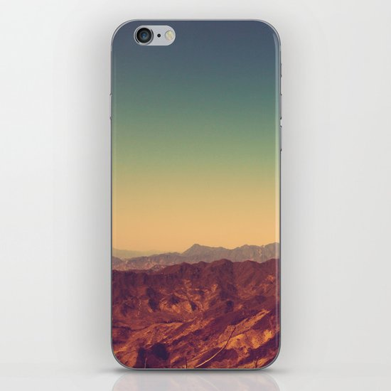 Mountains Clashed iPhone Skin