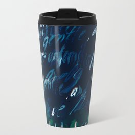 """""""Conquest of the Useless"""" by Werner Herzog Print (v. 7) Travel Mug"""