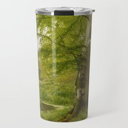 ANDERSEN-LUNDBY, ANDERS 1840 Lundby - 1923   Beech Forest in Early Summer Travel Mug