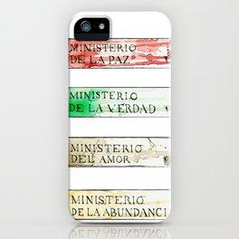 Ministerios 1984 iPhone Case