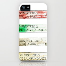 Ministerios 1984 iPhone Case