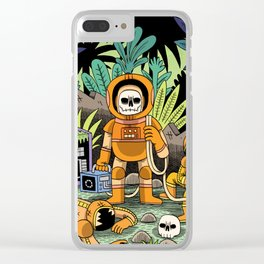 Lost contact Clear iPhone Case