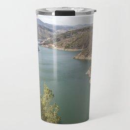 Artifical Lake In Andalusia Travel Mug