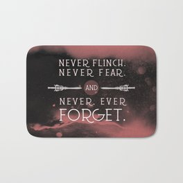 Nevernight - Never Forget Bath Mat