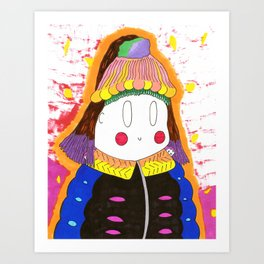 My Coat Art Print