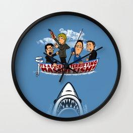 Fish Punch Wall Clock