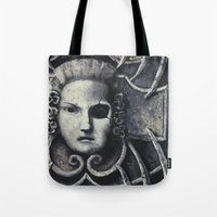 gothic Tote Bags featuring Gothic by Chris Kitzmiller