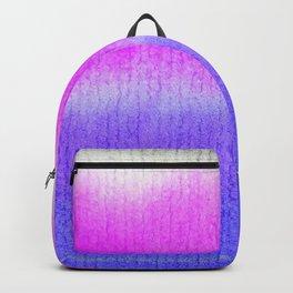 Purple Watercolor Blend Backpack