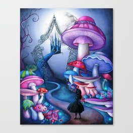 Alice - Gates to Wonderland Canvas Print