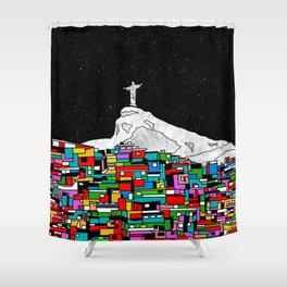 Christ the Redeemer Shower Curtain