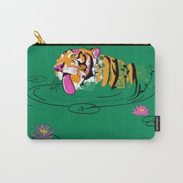 Tigar Lily Carry-All Pouch