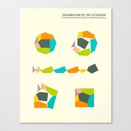 QUADRATURE OF THE OCTAGON Canvas Print