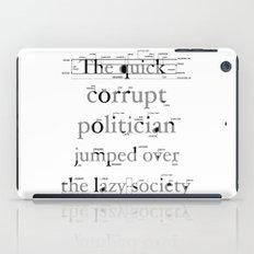 The Quick Corrupt iPad Case