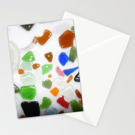 Parti Colour Seaglass Stationery Cards
