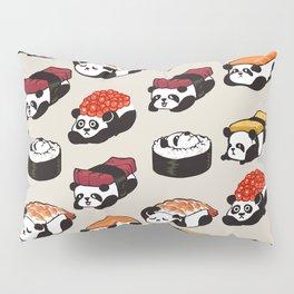 Sushi Panda Pillow Sham