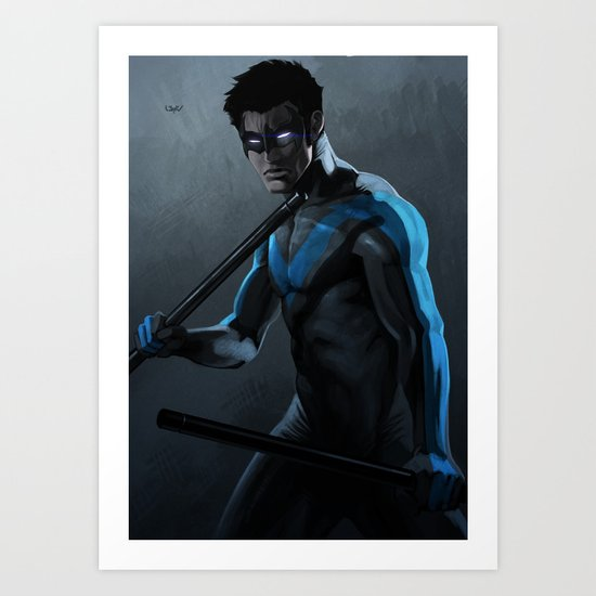 Nightwing Art Print