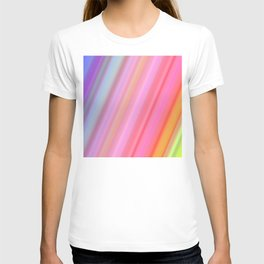 Abstract Neon Lights Colors T-shirt