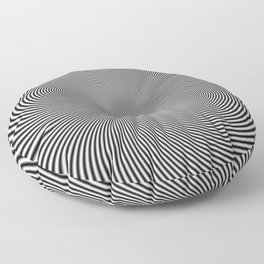 moire patterns II Floor Pillow