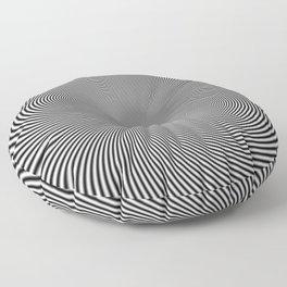 moire patterns II Floor Pillow