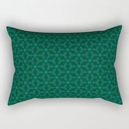 emeral green patern Rectangular Pillow