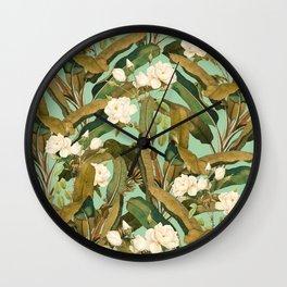 Tropical Jungle Wall Clock