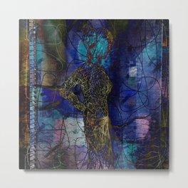 maze figure Metal Print