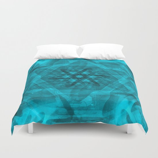History in a spin Duvet Cover