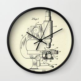 Microscope and Counting Chamber Therefor-1948 Wall Clock