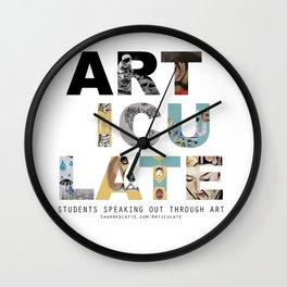 Articulate Wall Clock