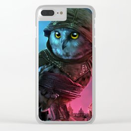 owl's creed Clear iPhone Case