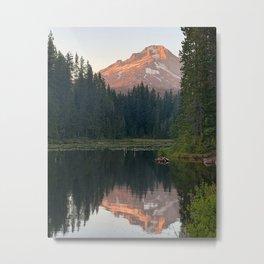 Mount Hood Sunset Metal Print