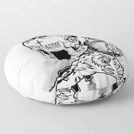 HOT SKULL Floor Pillow