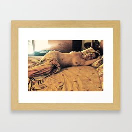 Love in the Afternoon - Barcelona Framed Art Print