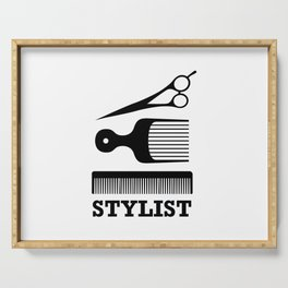 Hair Stylist Serving Tray