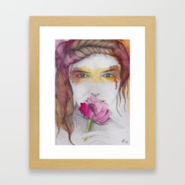 You will discover me, through the art Framed Art Print
