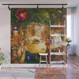 The Fairies Banquet Magical Realism Landscape by John Anster Fitzgerald Wall Mural