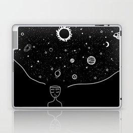 Galaxy in your Mind Laptop & iPad Skin