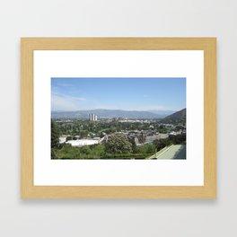 Universal City Framed Art Print