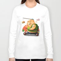 motivation Long Sleeve T-shirts featuring Motivation by Sloe Illustrations