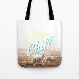 Sheep - chill Tote Bag