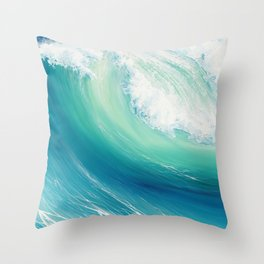Thunder Song Throw Pillow