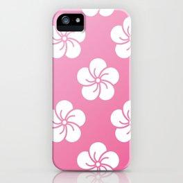 Sakura pillow iPhone Case