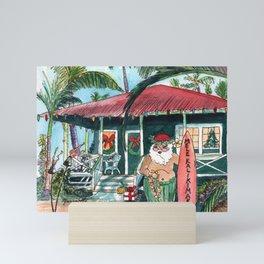 Mele Kalikimaka Mini Art Print