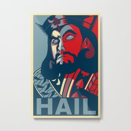 Hail To The King Of Spades Metal Print