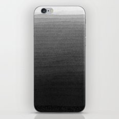 Black and White Ink Gradient iPhone & iPod Skin
