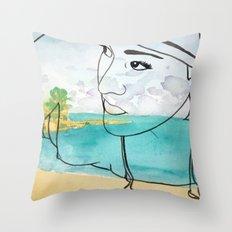 Coogee Beach Throw Pillow