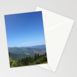 Summits in summer Stationery Cards